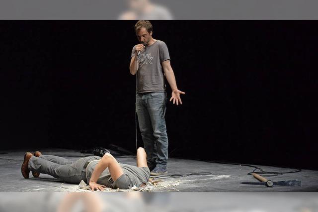 Duo Halory Goerger und Antoine Defoort eröffnet dritte Basler Dokumentartheatertage
