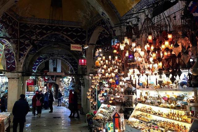 Der berühmte Markt in Istanbul wird renoviert