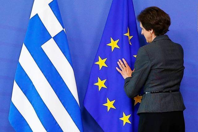 Durchbruch bei Griechen-Hilfen