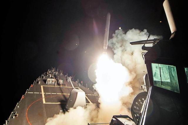 Deutschland stellt sich hinter US-Angriff in Syrien