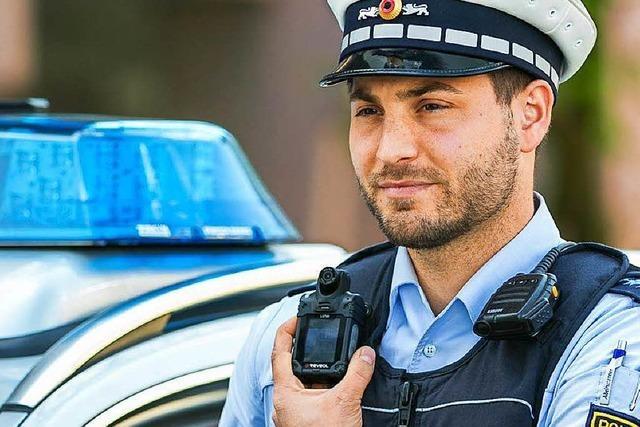 Polizei in Freiburg und Weil am Rhein testet jetzt Bodycams