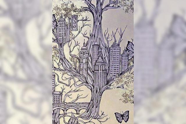 Landschaften auf Papier