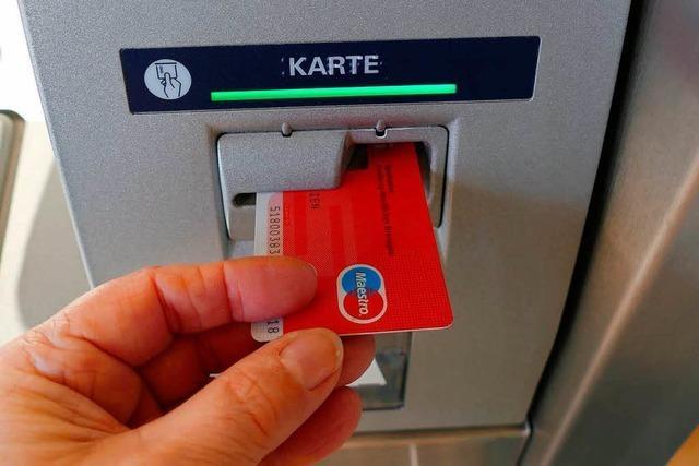 Sparkassen-Geldautomat in Ebringen wird abgebaut