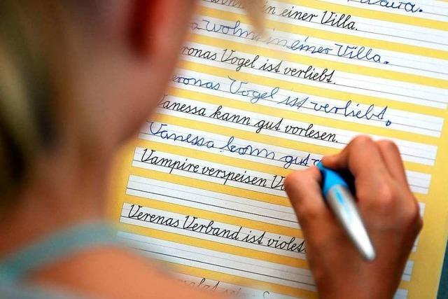 Deutschlands Schüler schreiben zu wenig mit der Hand