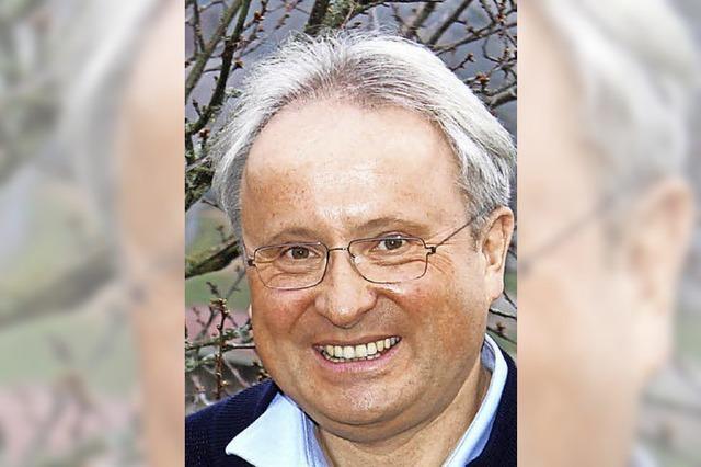 Peter Palme will Bürgermeister in Zell werden