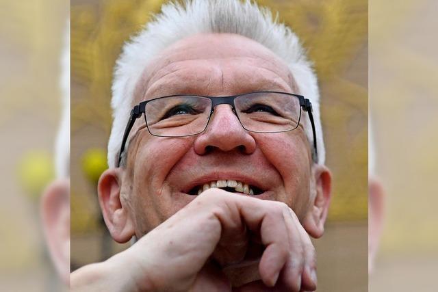Kretschmann bekommt Gutedelpreis