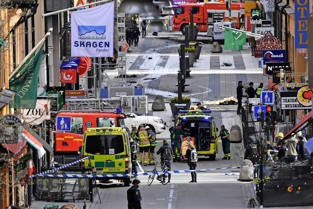 Stockholm steht unter Schock