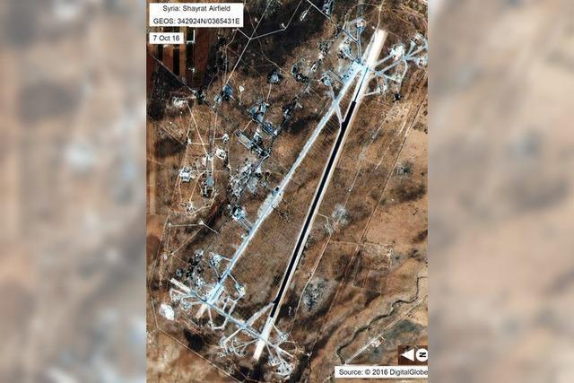 US-Angriff in Syrien löst Krise mit Russland aus
