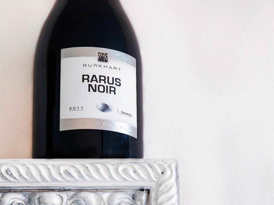 Ein Pinot der Extraklasse – der Rarus Noir  2011  | Foto: Michael Wissing