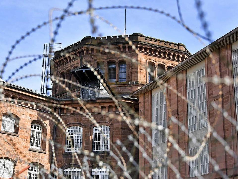 Die 1878 gebaute Justizvollzugsanstalt...et für einen zeitgemäßen Strafvollzug.    Foto: Michael Bamberger