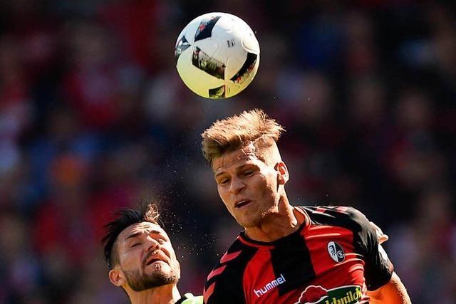 Petersen trifft: SC Freiburg gewinnt 1:0 gegen Mainz