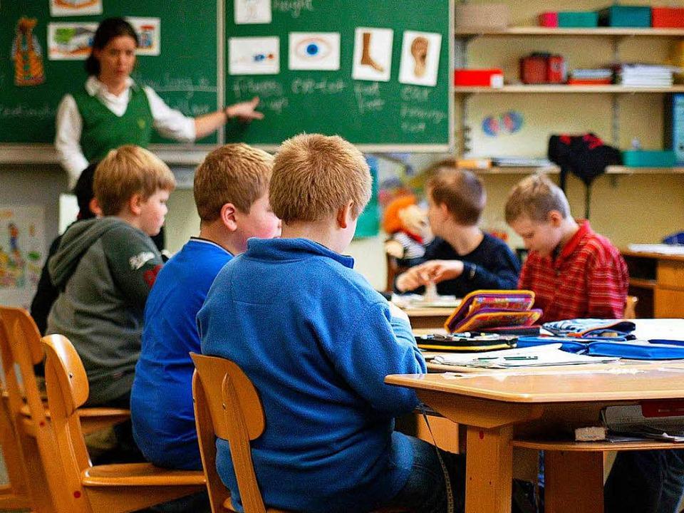Vor allem Grundschulen leiden unter Lehrermangel.    Foto: dpa