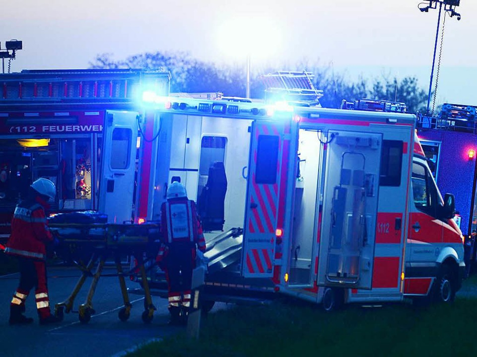 Unfall zwischen Ihringen und Merdingen  | Foto: Patrick Seeger