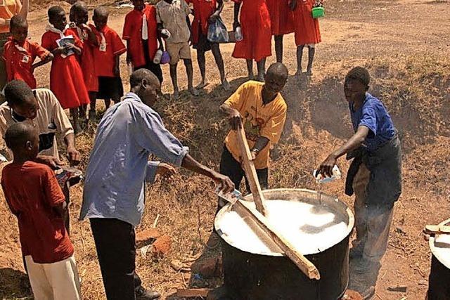 Spende für ein Schulprojekt in Uganda