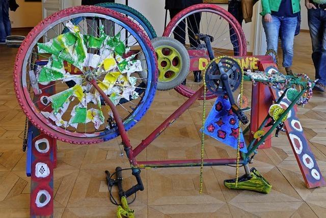 200 Jahre Fahrrad in einer Ausstellung