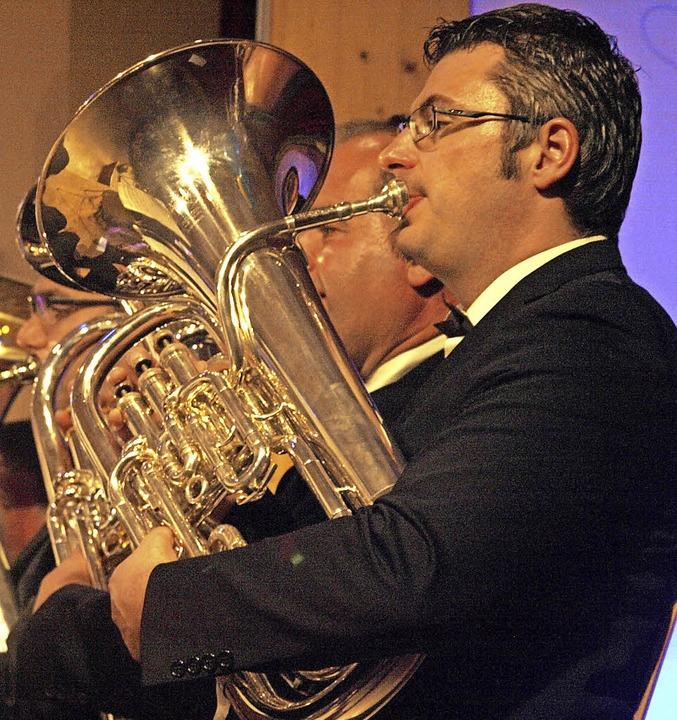 25 Jahre Jugendorchester Rickenbach fe...ll besetzten Gemeindehalle Willaringen  | Foto: Karin Stöckl-Steinebrunner