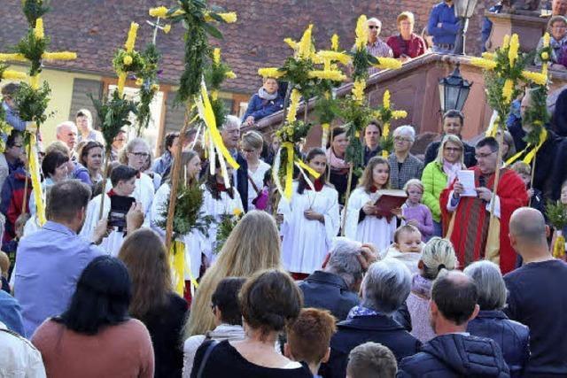 An Leiden Christi erinnert