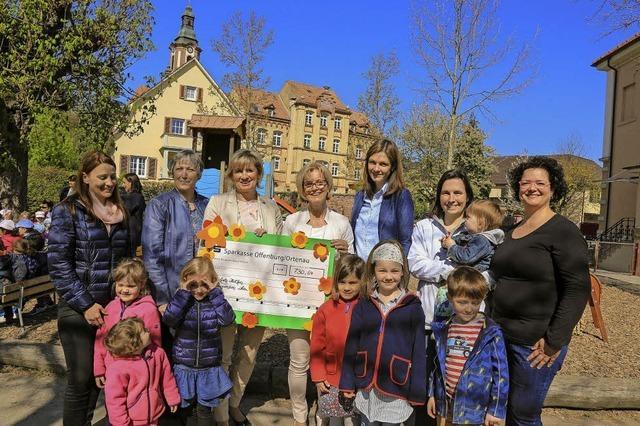 Kindergarten spendet für