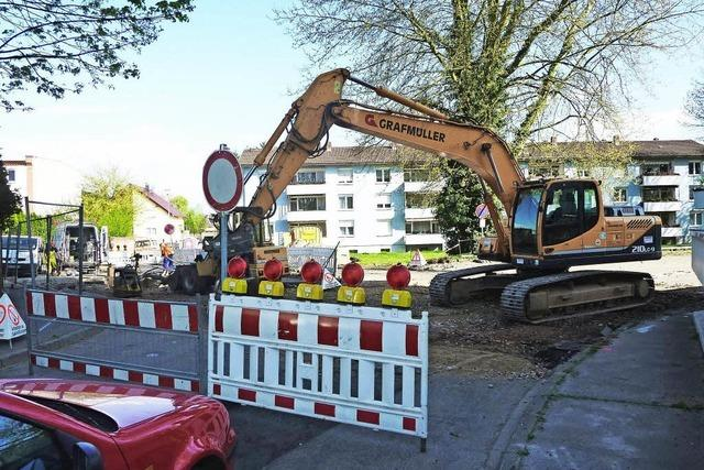 Kanalarbeiten bis September