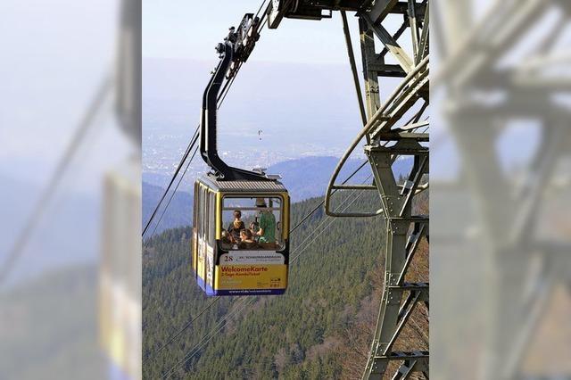 Die Schauinslandbahn ist in die Sommersaison gestartet