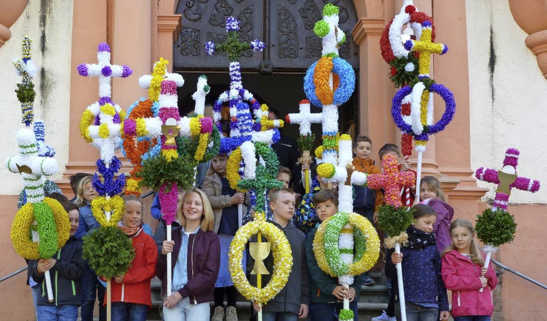 Palmsonntag Gefeiert Münstertal Badische Zeitung