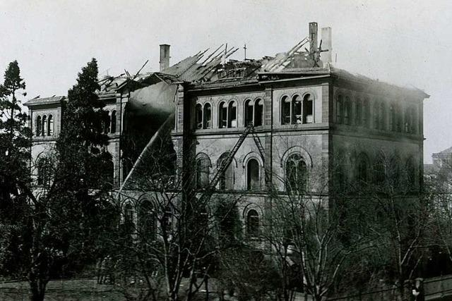 Der Luftkrieg über Freiburg erreichte am 14. April 1917 seinen Höhepunkt