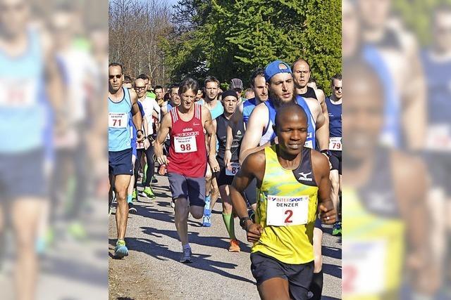 Corona Leiber gewinnt den Unterkirnacher Weihermooslauf