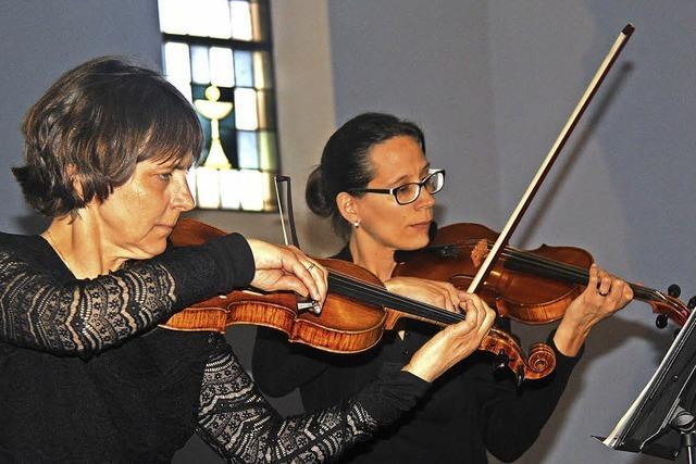 Violinen wie Singstimmen