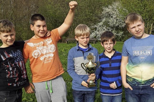 Zum dritten Mal in Folge bei Deutscher Meisterschaft