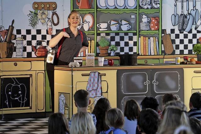 Hanna Huhn beim Kochduell