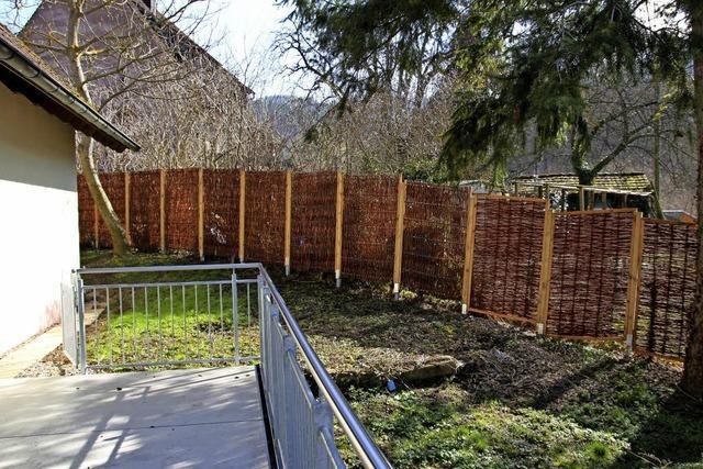Straußi darf Terrasse anlegen