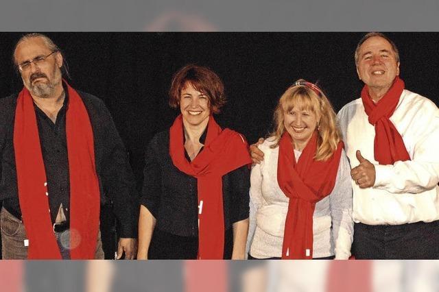 Kabarettisten zeigten zynisches Schauspiel