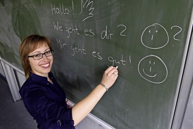Lehrer für Deutsch sind derzeit gefragte Leute