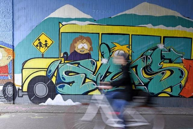 Karlsruher Forscher archivieren Straßenkunst
