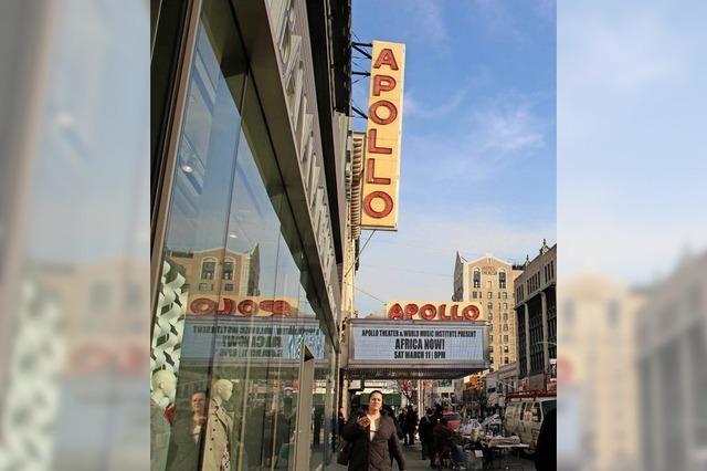 Apollo Theater in Harlem: Vom Laufburschen zum Gedächtnis des Konzertsaals