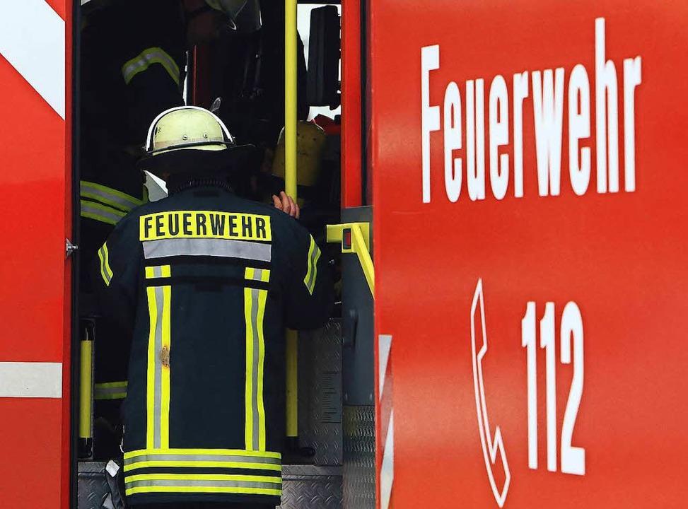 Feuer in der Salzertstraße in Lörrach (Symbolbild)  | Foto: dpa