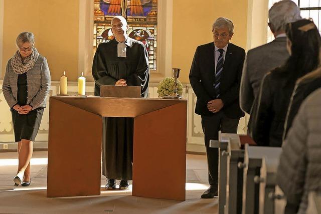 Neuer Altarraum eingeweiht