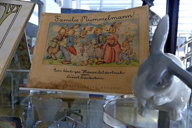 Oster-Kinderbücher und Osterfiguren in Müllheim