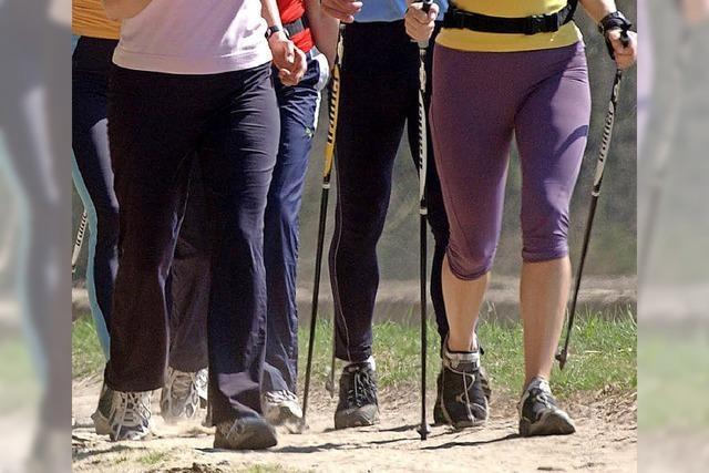 Neuerungen beim Nordic Walking