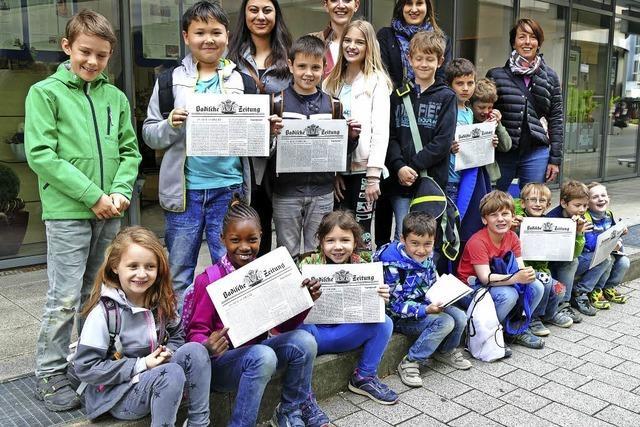 Schüler in der Redaktion