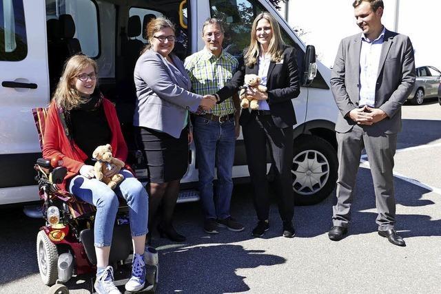 Rollstuhlbus für mehr Sicherheit
