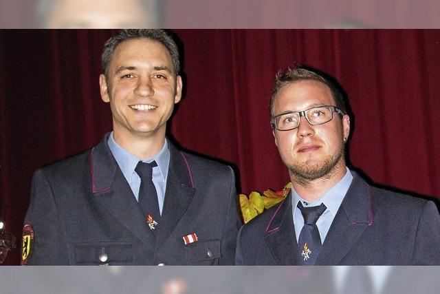 Neuer Jugendwart für die Feuerwehr Bernau