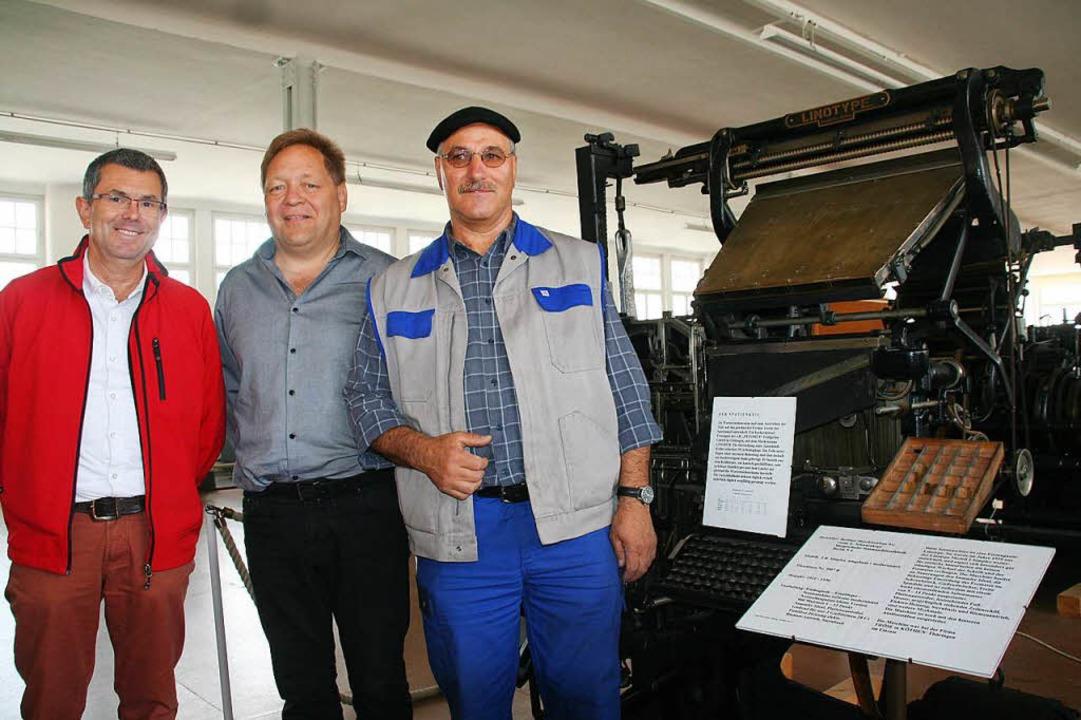 Die Museumsgesellschaft Schopfheim &#8... suchen neue Räume fürs Technikmuseum.  | Foto: Marlies Jung-Knoblich