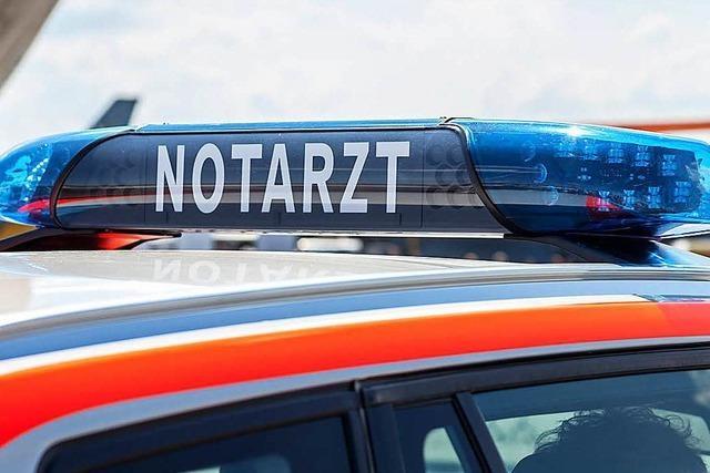 Autofahrer stirbt nach Unfall in Vörstetten