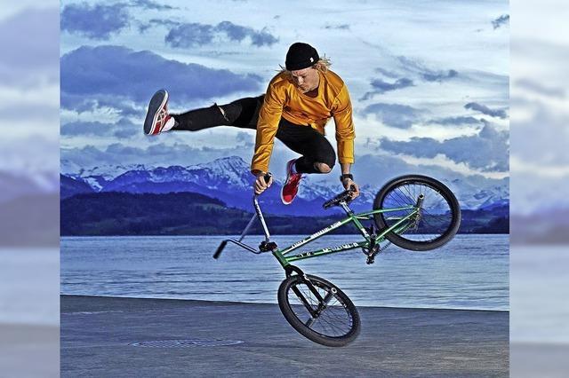 Schafft BMX-Freestyler Chris Böhm 33 Spins?