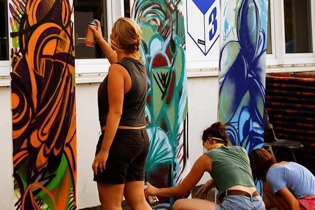 Beim Jugendkunstparkour gibt's kostenlose Workshops für Jugendliche