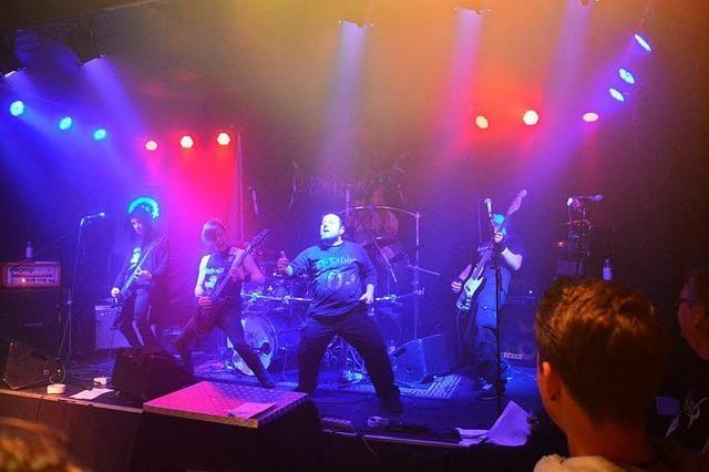 Die Lahrer Band Among Raging Clouds will Musik machen und feiern