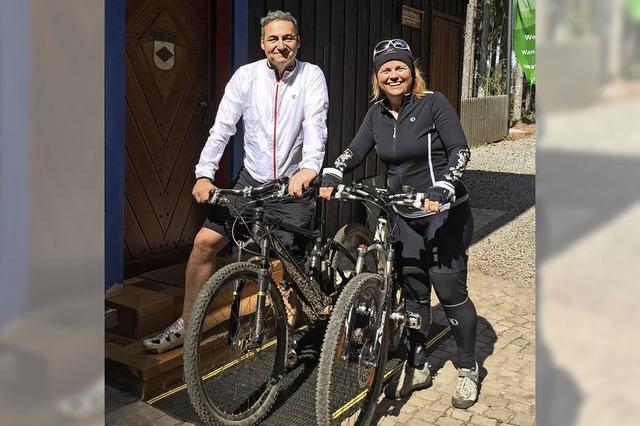 Tag für Mountainbiker und Wanderer