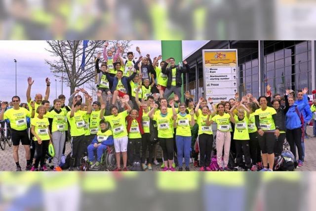 Friesenheimer Schüler beim S'cool Run