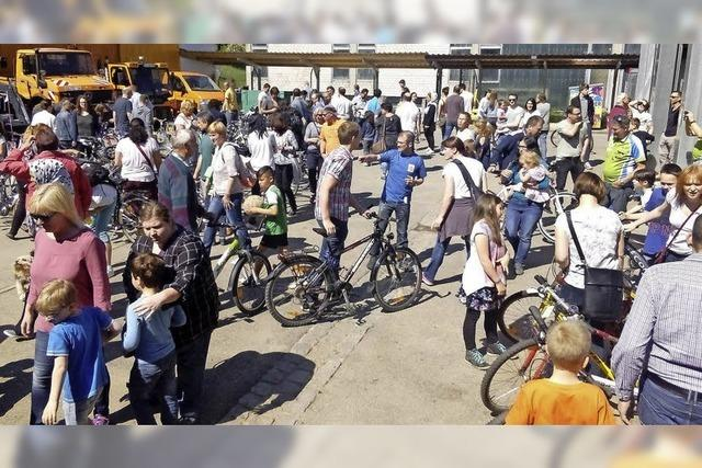 8. Radmarkt in Seelbach ein großer Erfolg